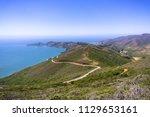 beautiful views of the green... | Shutterstock . vector #1129653161