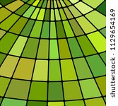 abstract vector stained glass... | Shutterstock .eps vector #1129654169