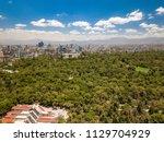 mexico city   chapultepec... | Shutterstock . vector #1129704929