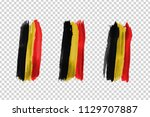 vector realistic isolated paint ... | Shutterstock .eps vector #1129707887
