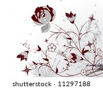 floral abstraction | Shutterstock .eps vector #11297188