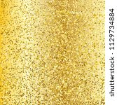 gold glitter background. luxury ... | Shutterstock .eps vector #1129734884