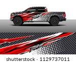 truck decal designs  cargo van...   Shutterstock .eps vector #1129737011