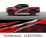 truck decal designs  cargo van...   Shutterstock .eps vector #1129737041
