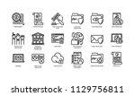 general data protection... | Shutterstock .eps vector #1129756811