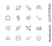 space icon is 30x30 pixel.... | Shutterstock .eps vector #1129757834