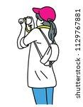 vector illustration character...   Shutterstock .eps vector #1129767881