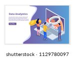 data analysis  search engine...   Shutterstock .eps vector #1129780097