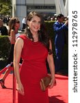 LOS ANGELES, CA - SEP 15: Julia Ormond at the Academy Of Television Arts & Sciences 2012 Creative Arts Emmy Awards held at Nokia Theater L.A. LIVE on September 15, 2012 in Los Angeles, California - stock photo