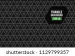 triangle full background vector ...   Shutterstock .eps vector #1129799357