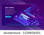 vector 3d isometric...   Shutterstock .eps vector #1129826351