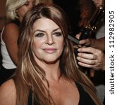 NEW YORK - SEPTEMBER 09: Kirstie Alley prepares backstage for Zang Toi presentation during Spring/Summer 2013 at Mercedes-Benz Fashion Week  on September 9, 2012 in New York - stock photo