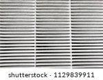 replaceable air purifier filter ... | Shutterstock . vector #1129839911