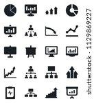 set of vector isolated black... | Shutterstock .eps vector #1129869227