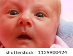 childhood innocence concept.... | Shutterstock . vector #1129900424