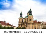 church of st. nicholas in old... | Shutterstock . vector #1129933781