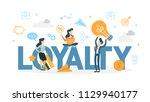 customer loyalty. business... | Shutterstock .eps vector #1129940177