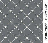 seamless star pattern on a dark ...