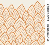 seamless abstract pattern.... | Shutterstock .eps vector #1129980815