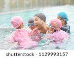joyful mood. happy professional ... | Shutterstock . vector #1129993157