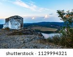 the lonely medieval neglected... | Shutterstock . vector #1129994321