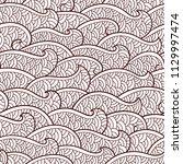 seamless abstract pattern.... | Shutterstock .eps vector #1129997474