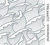 seamless abstract pattern.... | Shutterstock .eps vector #1129997861