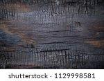 bbq background. burnt wooden... | Shutterstock . vector #1129998581