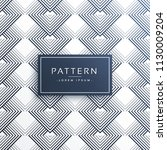 abstract line pattern design... | Shutterstock .eps vector #1130009204