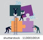 vector illustration  joint... | Shutterstock .eps vector #1130010014