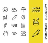 pc icon with umbrella  emoji...