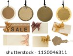 big collection of price tags ... | Shutterstock . vector #1130046311