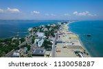 constanta romania mamaia beach | Shutterstock . vector #1130058287