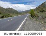 wild field highway  | Shutterstock . vector #1130059085