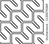 design seamless monochrome... | Shutterstock .eps vector #1130070389