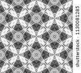design seamless monochrome... | Shutterstock .eps vector #1130081285