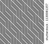 design seamless monochrome... | Shutterstock .eps vector #1130081357
