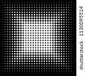 abstract halftone design vector ...   Shutterstock .eps vector #1130095514