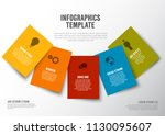 vector minimalist colorful... | Shutterstock .eps vector #1130095607