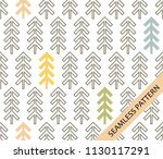 seamless pattern in... | Shutterstock .eps vector #1130117291