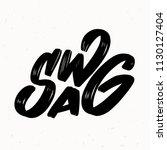 swag. vector lettering.   Shutterstock .eps vector #1130127404