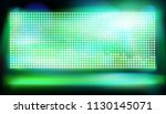 stage with big led projection... | Shutterstock .eps vector #1130145071