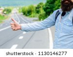 thumb up sign not work in many... | Shutterstock . vector #1130146277