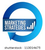 marketing strategies cycle... | Shutterstock . vector #113014675