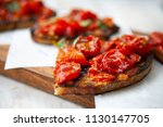 delicious and colorful... | Shutterstock . vector #1130147705