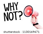 why not  inscription with... | Shutterstock . vector #1130169671