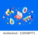software development concept.... | Shutterstock .eps vector #1130180771