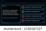 assessment template  quiz... | Shutterstock .eps vector #1130187227
