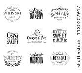 badge set for small businesses  ... | Shutterstock . vector #1130202947