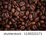roasted coffee beans | Shutterstock . vector #1130222171